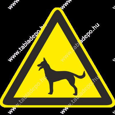 kutya tábla