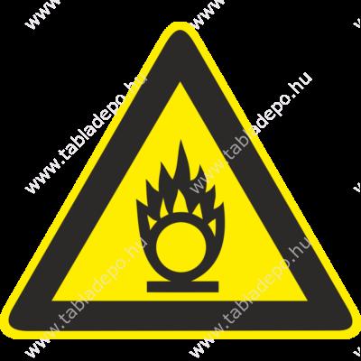 Oxidáló anyag piktogram