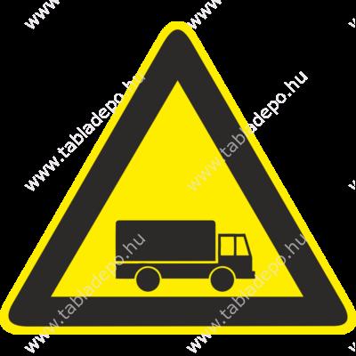 Gépjármű forgalom piktogram